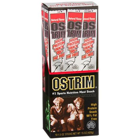 Gnawlers Stick Beef Flavour Isi 3 ostrim beef ostrich snack sticks flavor 1 stick low carb canada