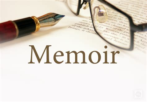 memoirs of a books writing a memoir