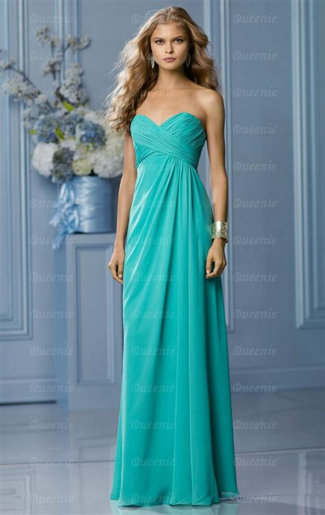 Bridesmaid Dresses Uk by Stylish Chiffon Light Turquoise Bridesmaid Dress Bnnbf0003