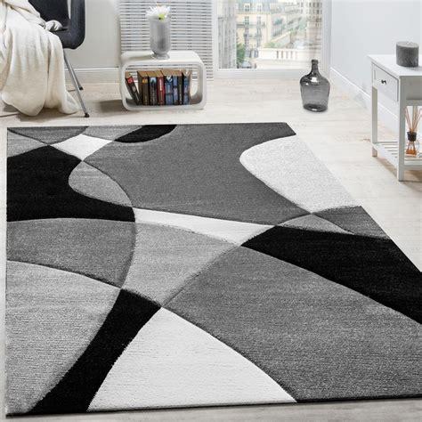 tappeti stati tappeto motivo geometrico nero bianco tapetto24