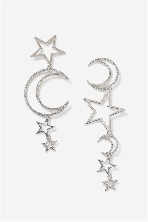 And Moon Drop Earrings moon drop earrings topshop