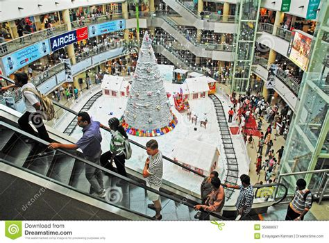christmas shopping celebration editorial photography