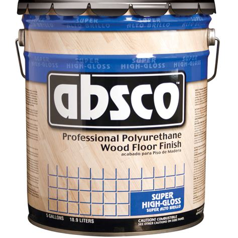 polyurethane for hardwood floors reviews 1 gallon container of absco gloss wood floor finish