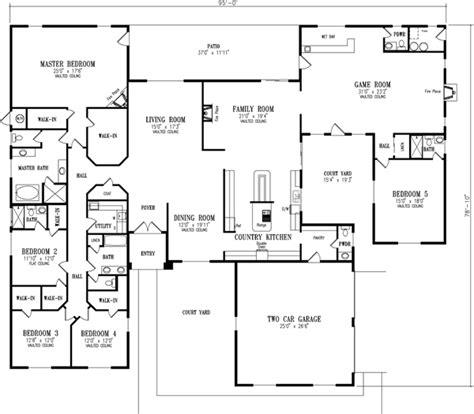 luxury 5 bedroom house plans luxury 5 bedroom house plans 28 images luxury style