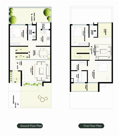 row house floor plans arcor serenity row house in jamtha nagpur buy