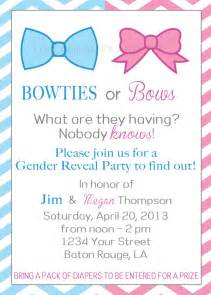 items similar to bowties or bows gender reveal party