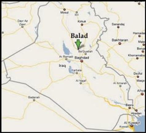 balad iraq map ssgt rice michael s