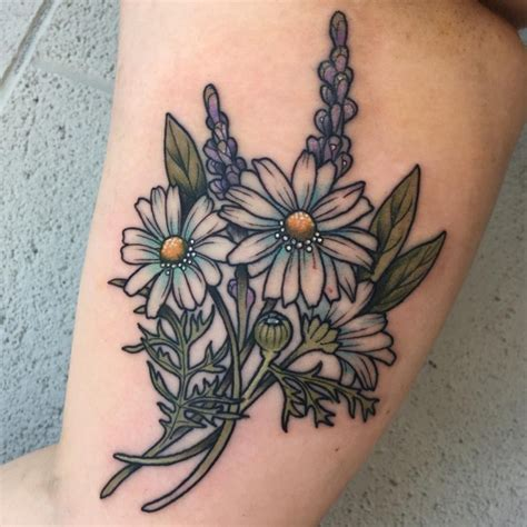 85 best daisy flower tattoo designs amp meaning 2018