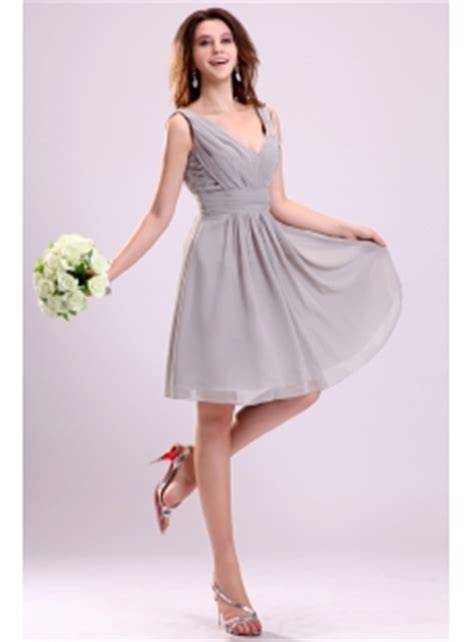 Bridesmaid Dresses For Small Bust - simple chiffon bridesmaid gown 1st dress