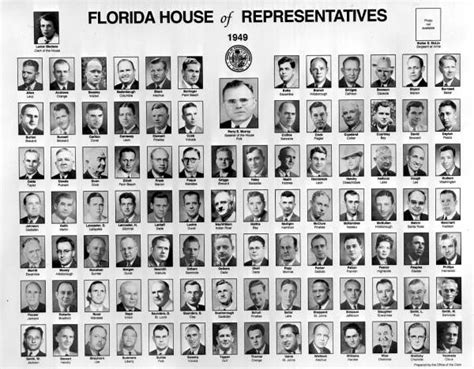 house of representatives florida florida memory members of the 1949 florida house of representatives