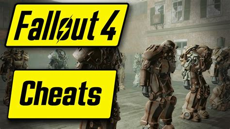 fallout 3 console cheats fallout 4 cheats codes god mode flying item