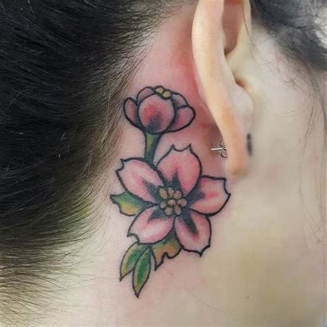 ear tattoo care behind the ear tattoo 55 different suggestions