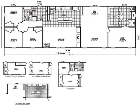 fleetwood mobile home plans 78 images about floor plans on pinterest modern