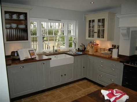 english country style white kitchen with modern wood base 131 best grey kitchens images on pinterest cottage