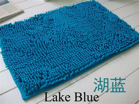 Thick Bathroom Rugs by Washable Bathroom New Shaggy Rugs Non Slip Bath Mat Thick Shag Pile Ebay