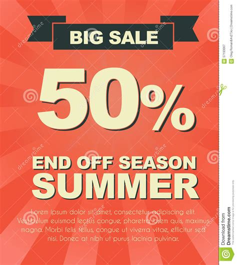 poster design rates design a poster for sale stock vector image 57193067
