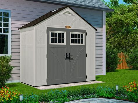 8x4 Sheds by Suncast 8x4 Tremont Five Plastic Shed Greenhouse Stores