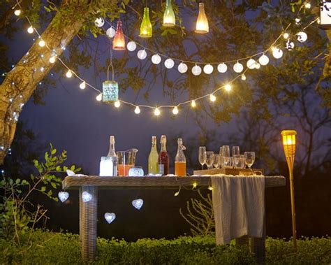 lights for backyard party outdoor party string lights ideas all home design ideas