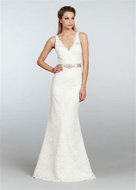 keely ivory trumpet wedding dress 2013 sang
