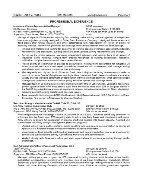resume exle for usa resume ixiplay free resume sles