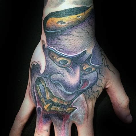 japanese hand tattoo designs 100 hannya mask designs for japanese ink ideas