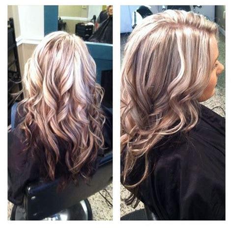 blonde hair lowlights underneath dark blonde dark and blondes on pinterest
