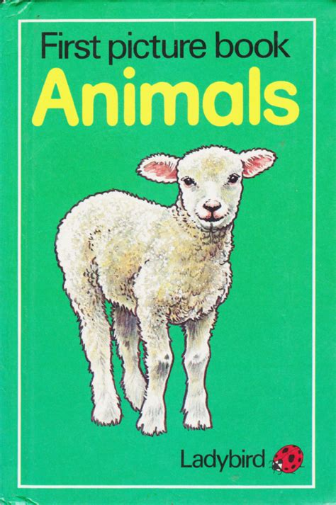 animal picture books picture book animals ladybird book series 832