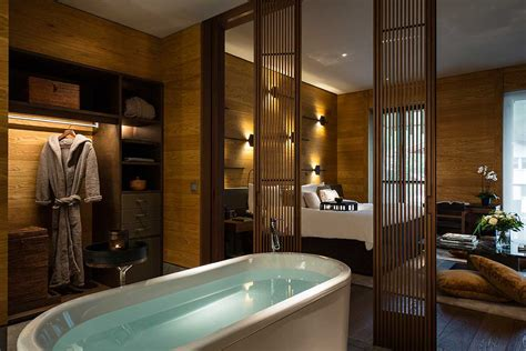 On Suite Bathroom Ideas by The Chedi Andermatt Krieger Immobilien Design
