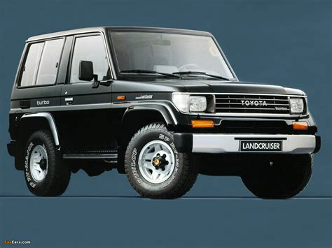 Toyota Landcruiser Ii Toyota Land Cruiser Ii Lj71g 1990 96 Photos 1280x960