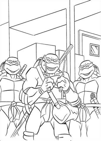 teenage mutant ninja turtles christmas coloring pages teenage mutant ninja turtles coloring page supercoloring com