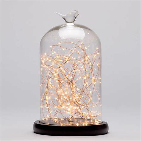 Uk Duvet Covers Bell Jar Table Light Dark Wood Amp Copper From Litecraft