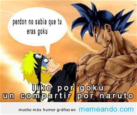 Naruto Vs Goku Meme - goku vs naruto meme memes