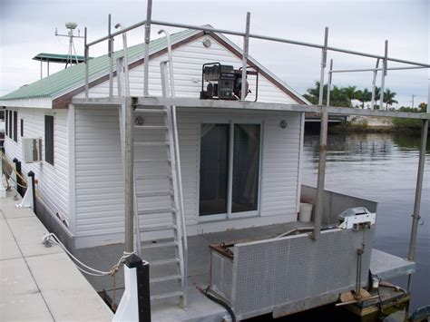 house pontoon boats pontoon house boat for sale in sw florida sold