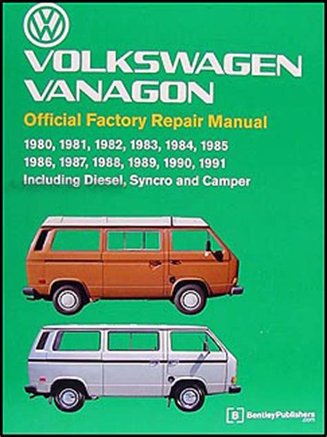 best car repair manuals 1995 volkswagen eurovan on board diagnostic system 1990 1995 vw transporter eurovan bus repair shop manual