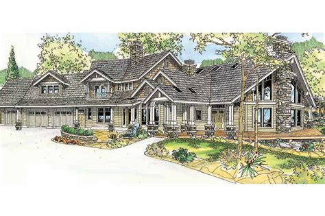 craftsman lodge house plans craftsman house plans brookport 30 692 associated designs