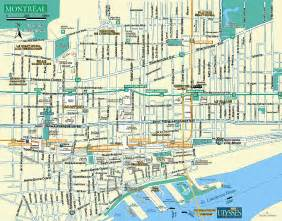 detailed city map of montreal map