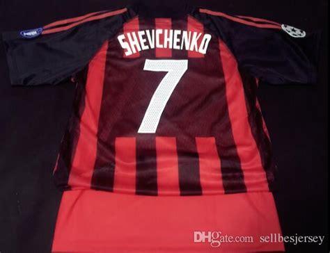 Inzaghi T Shirt 2002 03 shevchenco maldini inzaghi shirt sports rugby