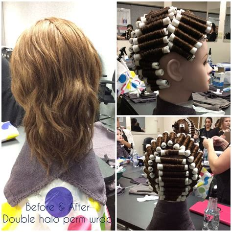 9 Section Perm by Halo Perm Wrap Oct 21 Chemical Texture Services Perms And Cosmetology