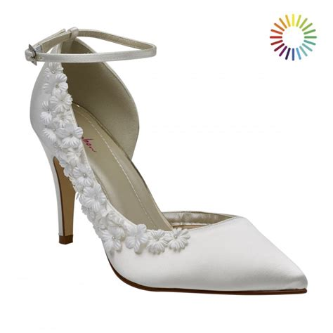 Rainbow Schuhe Ivory by Rainbow Club Fern Ivory Blossom Court Shoes Shoes Co Uk