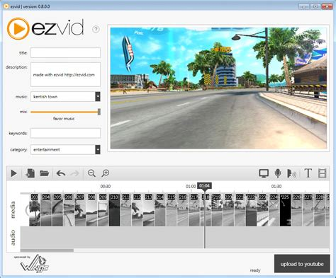 ezvid free video editing software full version ezvid free screen recorder and video editor download