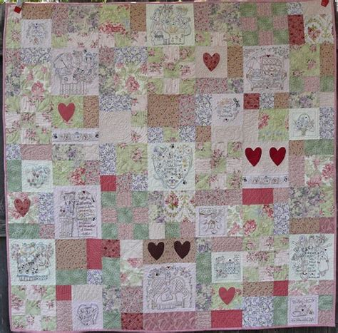 Stitchery Quilts by Embroidery And Stitchery Quilts Quilting Gallery