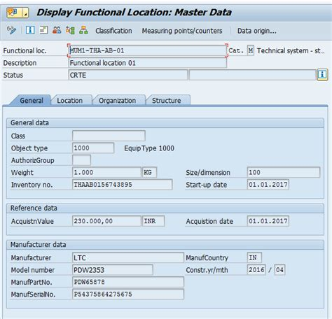 tutorial sap pm sap functional location tutorial free sap pm training