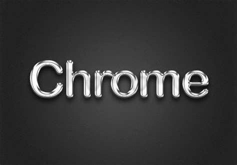 photoshop words chrome tutorial create chrome text effect in photoshop