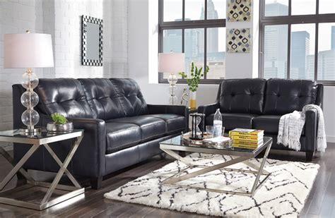 ashley 59104 okean navy leather sofa set liberty lagana furniture in meriden ct the quot o kean navy