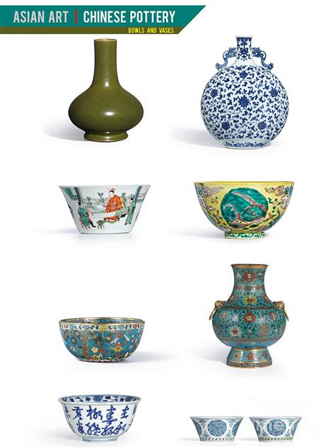 Next Vases And Bowls by Pottery Bowls And Vases Photograph By