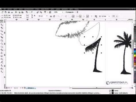 corel draw x4 tutorials youtube corel draw x4 tutorial wektorowa palma youtube