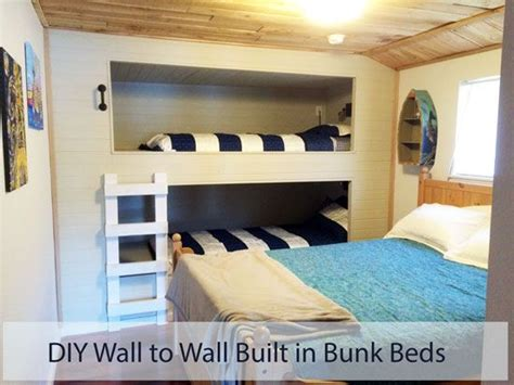 in wall bunk beds rehabbing a lakefront cabin and loving it this