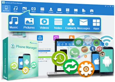 apowersoft phone manager manage, backup, restore ios and