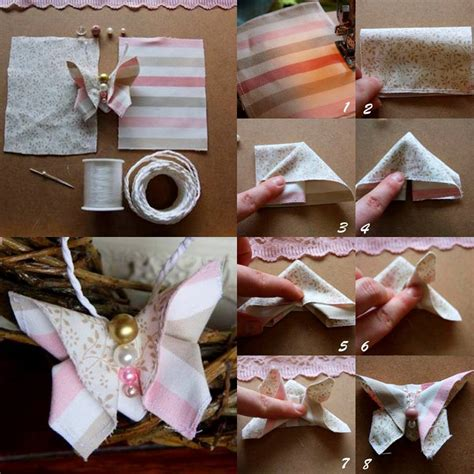 Handmade Craft Tutorials - diy fabric butterfly diy projects usefuldiy