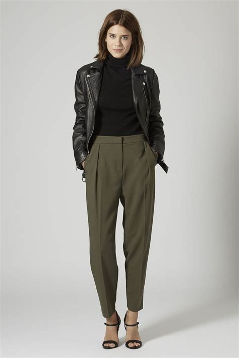 Style Ideas 50s Style Cropped Colllarless Jacket by Best 25 Trousers Ideas On Minimalist